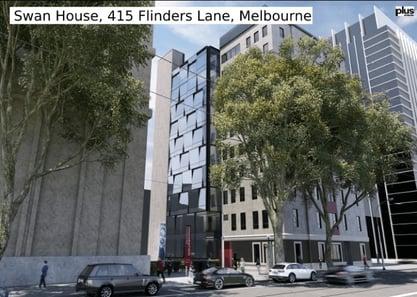 FARE Swan House 415 Flinder Lane Melbourne z